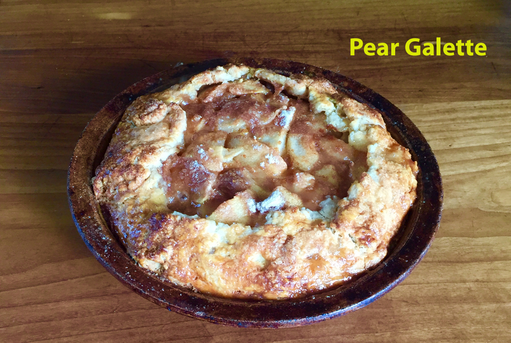 pear galette